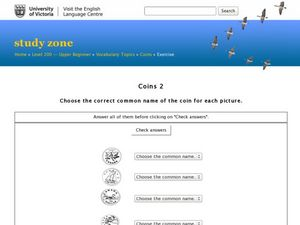 Coins 2 Worksheet