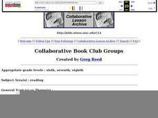 Collaborative Book Club Groups Lesson Plan