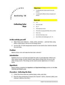 Collecting Solar Rays Lesson Plan