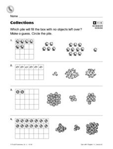 Collections Worksheet