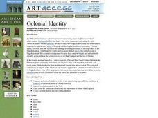 Colonial Identity Lesson Plan