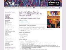 Color and Composition for the Creative Quilter Lesson Plan