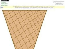 Colored Cone Picture Worksheet