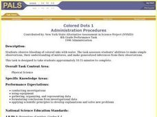Colored Dots 1 Lesson Plan