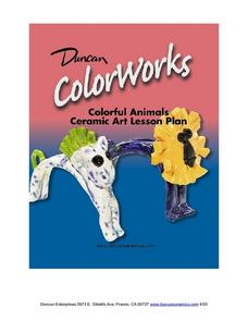 Colorful Animals Lesson Plan