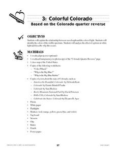 Colorful Colorado Lesson Plan