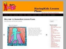 Coloring Books Lesson Plan