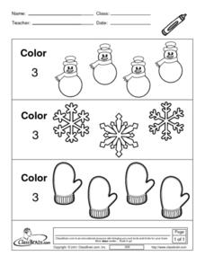 Coloring Sets Worksheet