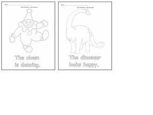 Coloring Sheets 2 Worksheet