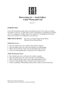 Colors Warm And Cool Lesson Plan