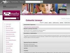 Colourful Jerseys Lesson Plan