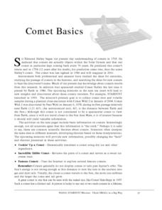 Comet Basics Lesson Plan