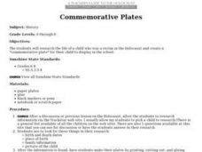 Commemorative Plates Lesson Plan
