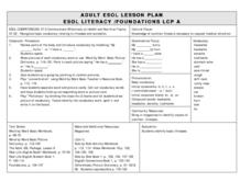 Communicate Effectively on Health and Nutrition Topics Lesson Plan