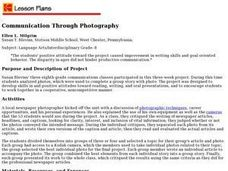 Communication Through Photography Lesson Plan