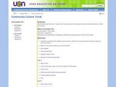 Community Culture Trunk Lesson Plan