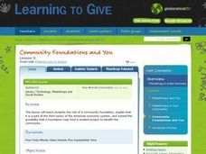 Community Foundations and You Lesson Plan