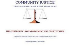 COMMUNITY JUSTICE Lesson Plan