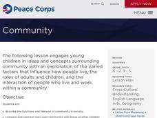 Community Lesson Plan