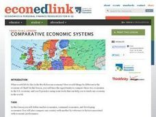 Comparative Economic Systems: Economics Lesson Plan