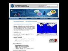 Comparison of Snow Cover on Different Continents Lesson Plan