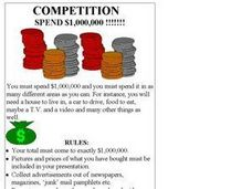 Competition Spend $1,000,000 Worksheet