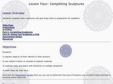 Completing Sculptures Lesson Plan