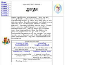 Composing Music Lesson Plan