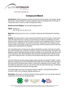 Compound Match Lesson Plan