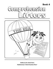 Comprehension Lifters: The Sea Worksheet
