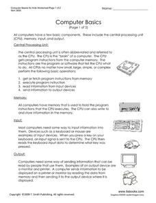Printables Basic Computer Skills Worksheets computer skills lesson plans worksheets reviewed by teachers basics for kids worksheet
