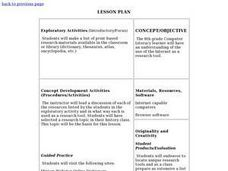 Computer Literacy learner Lesson Plan