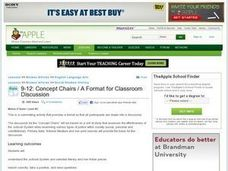 Concept Chairs: A Format for Classroom Discussion Lesson Plan