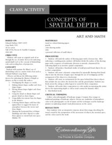 Concepts Of Spacial Depth Lesson Plan