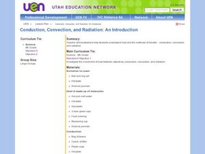 Conduction, Convection and Radiation Lesson Plan
