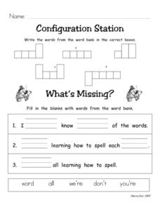 Configuration Station #5 Worksheet