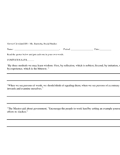 Summarizing and paraphrasing worksheets lesson