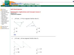 Printables Congruent Polygons Worksheet congruent polygons 7th 8th grade worksheet lesson planet worksheet