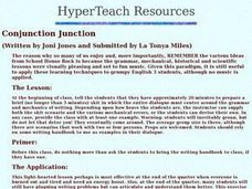 Conjunction Junction Lesson Plan