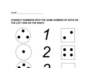 Connect the Numbers (1-5) Worksheet