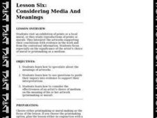 Considering Media And Meanings Lesson Plan