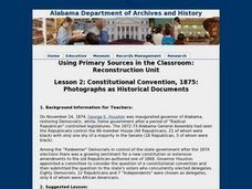 Constitutional Convention, 1875: Photographs as Historical Documents Lesson Plan