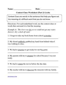 math worksheet : vocabulary context clues worksheets 7th grade  worksheets on  : Context Clues Worksheets Multiple Choice