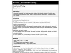 Cool School Poetry Lesson Plan
