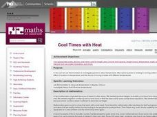 Cool Times with Heat Lesson Plan
