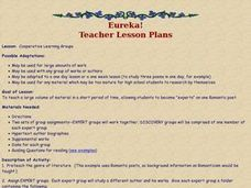 Cooperative Learning Groups Lesson Plan