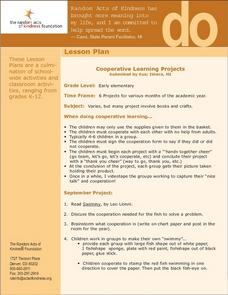 Cooperative Learning Projects Lesson Plan