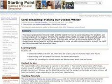 Coral Bleaching: Making Our Oceans Whiter Lesson Plan