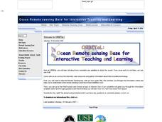 Coral Reef Remote Sensing Classification Experiment Lesson Plan