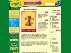 Corn-Husk Characters Lesson Plan